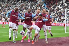 West Ham finish in style to make sure of Europa League action next season