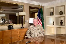 US general: As US scales back in Mideast, China may step in