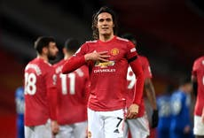 Diego Forlan: Edinson Cavani would thrive alongside Harry Kane or Erling Haaland
