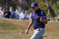 Still nifty at fifty – Phil Mickelson becomes oldest winner in major history