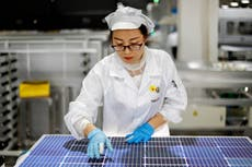 Biden's solar ambitions collide with China labor complaints