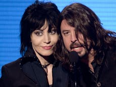 Dave Grohl recalls getting 'so high' with Miley Cyrus and Joan Jett