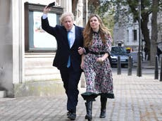 Boris Johnson and Carrie Symonds 'to marry in summer 2022'