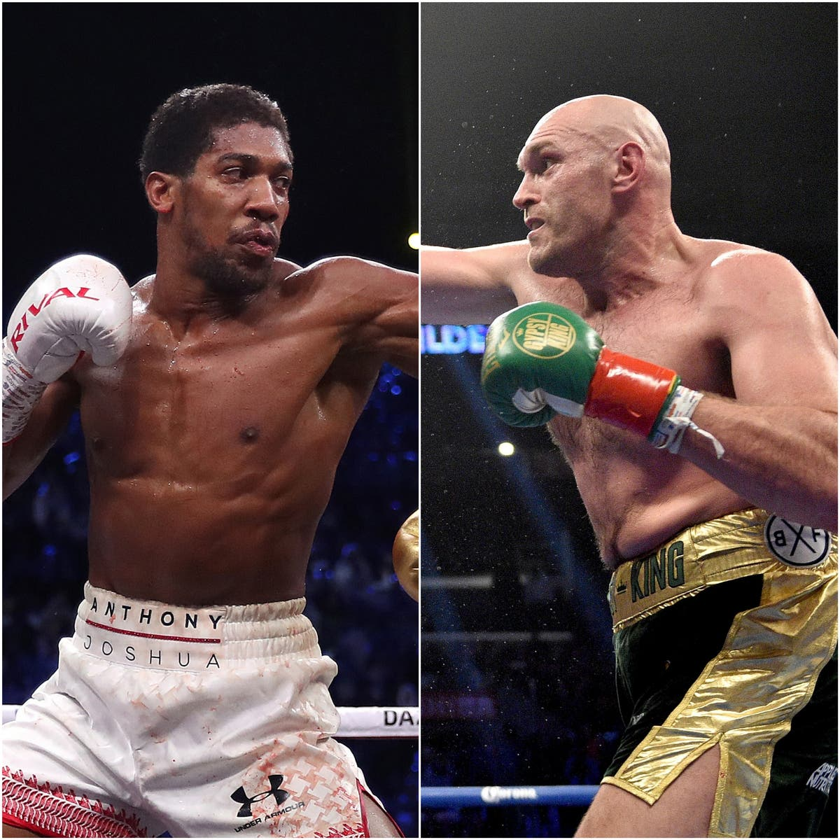 Anthony Joshua in dig at Tyson Fury as Oleksandr Usyk fight looms
