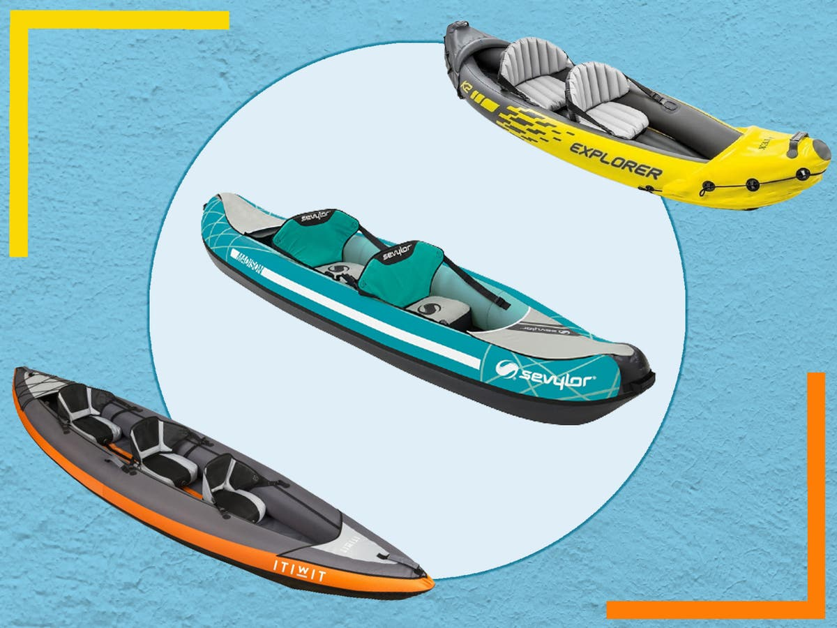 8 best inflatable kayaks for exploring rivers, lakes and seas