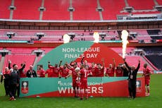 Hornchurch boss hopes 'impossible made possible' FA Trophy win becomes a film