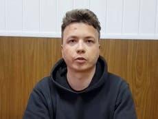 Roman Protasevich: Belarusian opposition leader believes blogger has been tortured