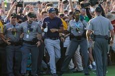 PGA boss apologises to Phil Mickelson and Brooks Koepka for unruly fans