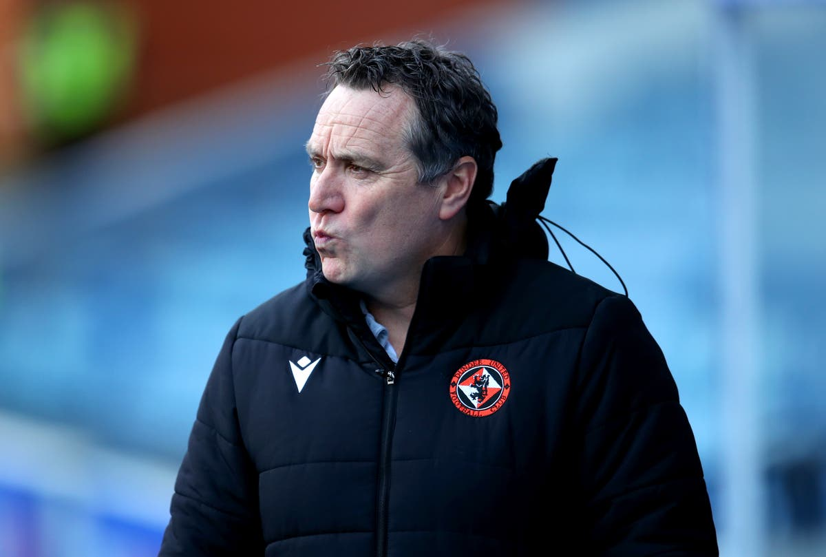 Dundee United preparing to announce manager Micky Mellon's departure