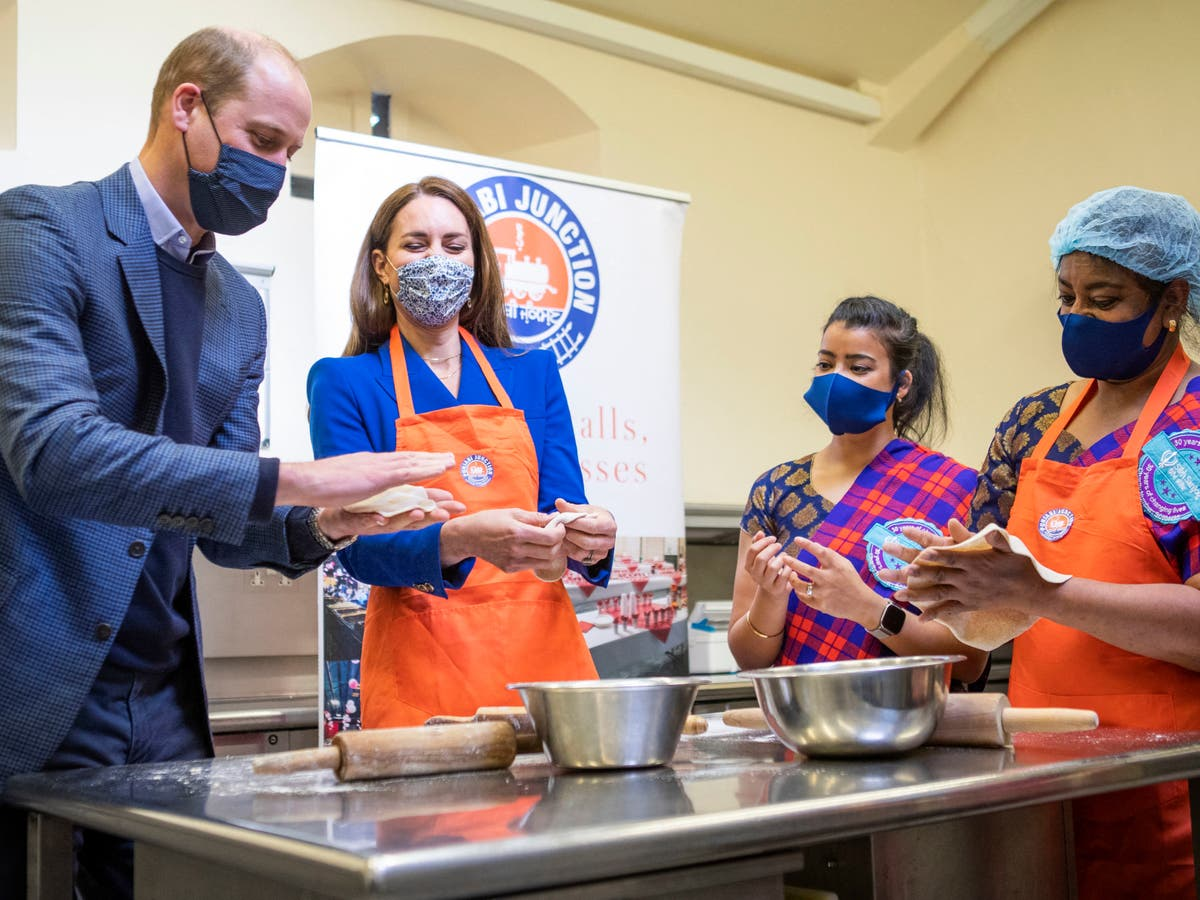 Prince William says Kate makes curries too hot