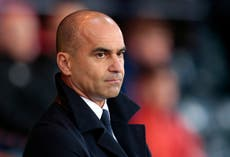 Roberto Martinez not a current candidate to take over as Tottenham manager