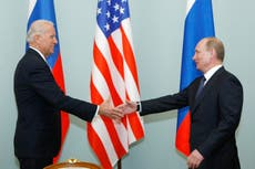Biden's meeting with Putin is not a 'reward', says White House as summit confirmed for Geneva on 16 June