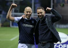 Dream comes true for Charlie Adam as Dundee get back among Scottish 'big boys'