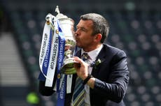 Dundee urged to emulate St Johnstone trophy triumphs on return to top flight