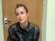 Sofia Sapega: Girlfriend of dissident journalist Roman Protasevich appears in Belarus detention video
