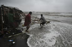 Cyclone Yaas: More than a million people evacuated as India braces for second 'severe' storm in a week
