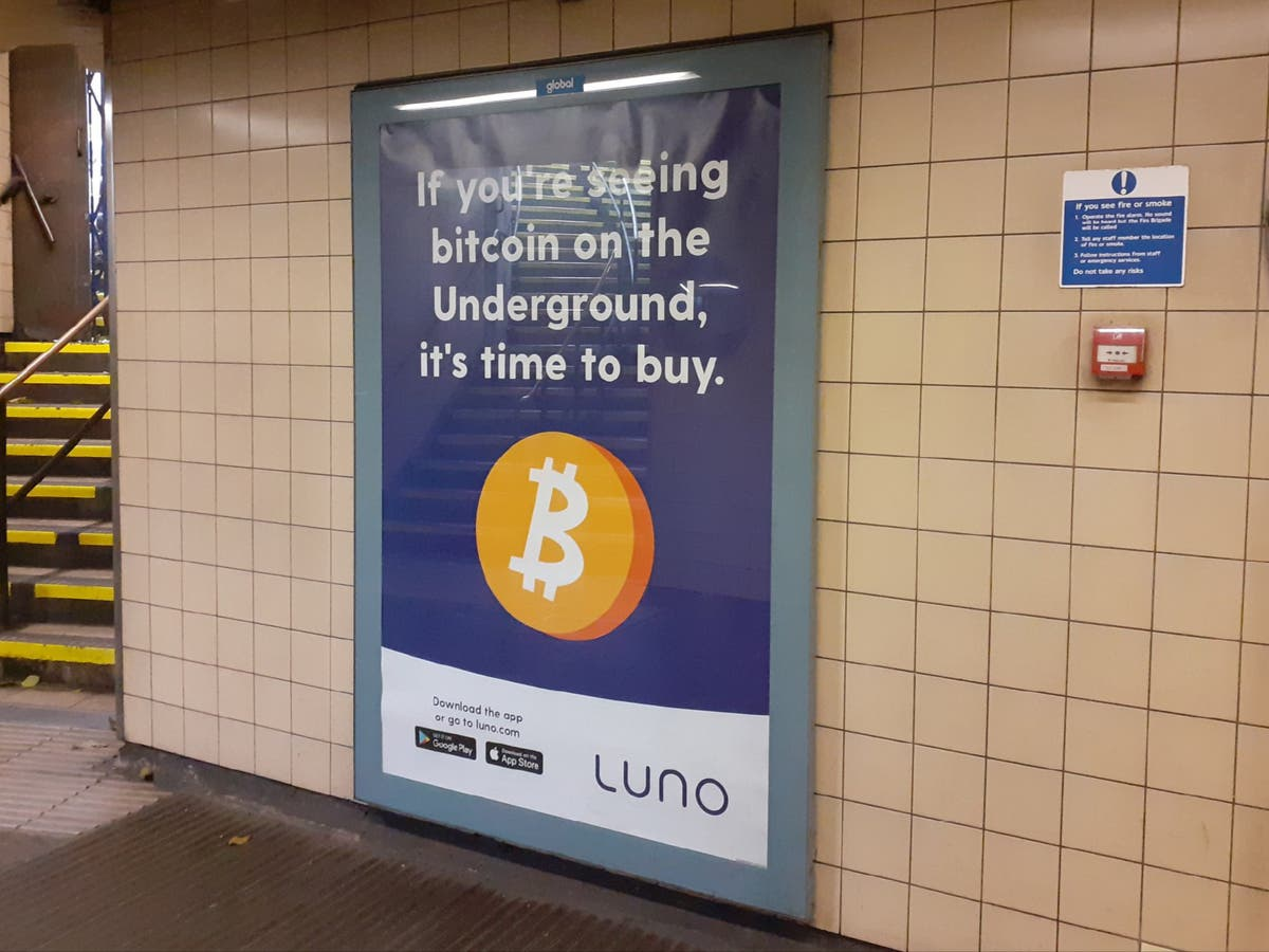 Bitcoin advert claiming it's 'time to buy' crypto is banned in UK