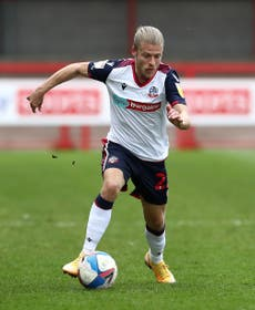 Winger Lloyd Isgrove commits future to promoted Bolton