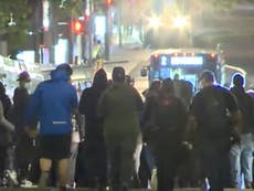 Portland police declare a riot during George Floyd anniversary protests
