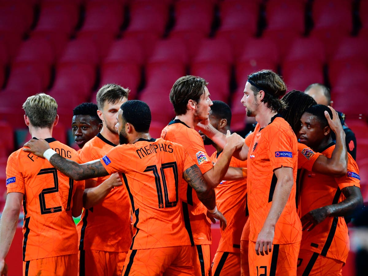 Netherlands confirm final Euro 2020 squad