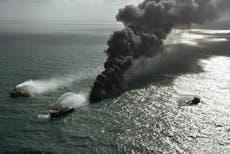 European firefighters help Sri Lanka with 7-day ship fire