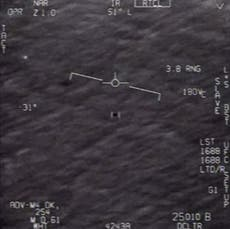 Mystery remains as UFO report concludes no evidence Navy sightings were aliens and rules out secret US tech