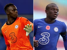 Chelsea include Edouard Mendy and N'Golo Kante in Champions League final squad