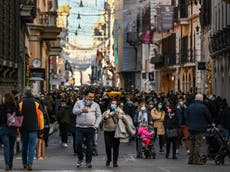 British tourists at risk of bringing variants back from European 'blind spots'