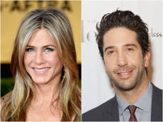 Friends fans blindsided by Jennifer Aniston and David Schwimmer's romance revelation in reunion episode