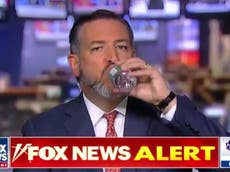 Twitter goes wild over doctored clip of Ted Cruz eating a fly on Hannity