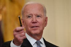'It's wrong and un-American': Biden condemns Texas bill to restrict voting rights