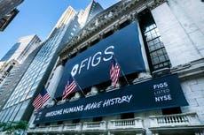 Online scrubs seller Figs soars 36% in stock market debut