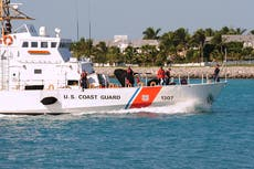 Boat capsizes off Key West, leaving two dead and ten missing