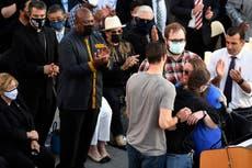 Horror, heroism mark deadly shooting at California rail yard