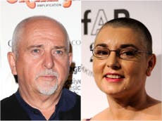 Sinead O'Connor describes past romance with Peter Gabriel: 'I was basically weekend p***y'