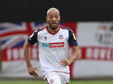 Alex Baptiste signs new 12-month deal at Bolton