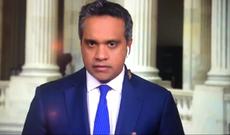 'I'm screaming': Cicada filmed crawling onto CNN journalist Manu Raju, shocking viewers