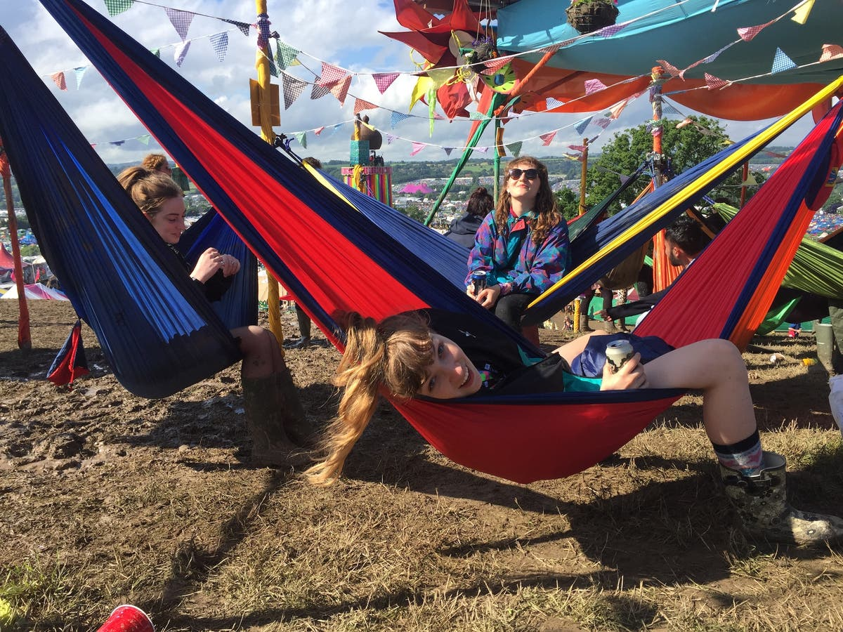 The Big Moon: At festivals, you build a lawless city for a weekend and let loose