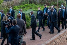 Visiting South Africa, France's Macron pledges vaccine help