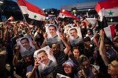 Syria's Assad says reelection empowers him to defeat enemies