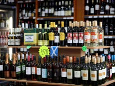 Campaigners call for minimum alcohol price in England after research shows it has positive impact