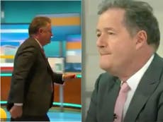 Piers Morgan says he regrets storming off Good Morning Britain amid claims ITV wants him back