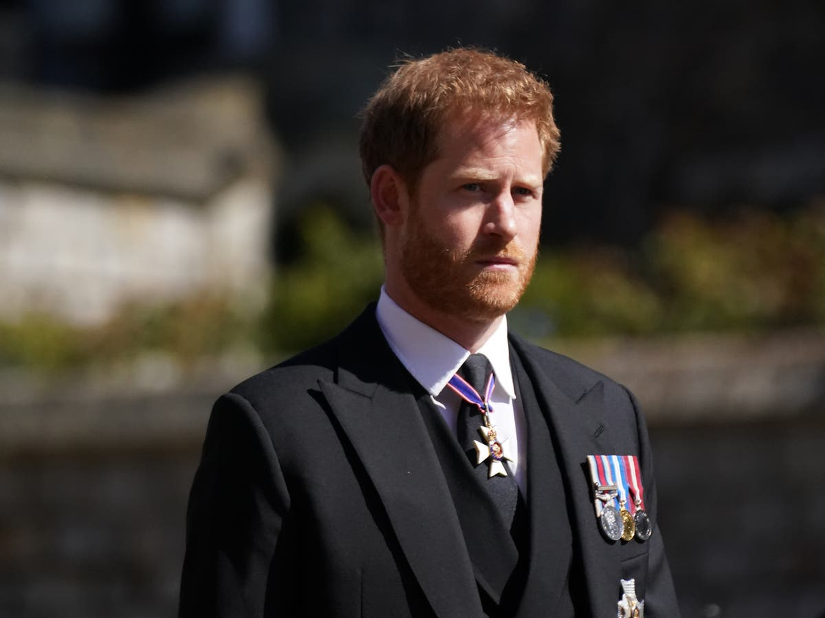 Prince Harry learned of Prince Philip's death 'from the police'