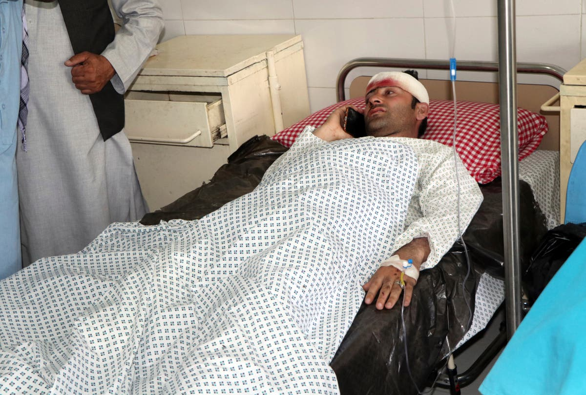 Afghan officials: Roadside bomb kills 4, wounds 11 students