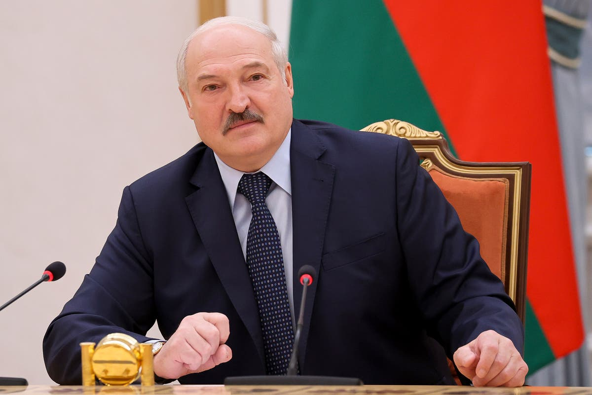 Belarusians in Ukraine protest repression in homeland