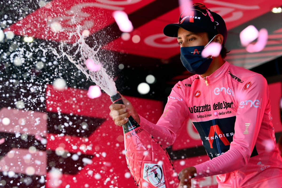 Egan Bernal on verge of Giro d'Italia victory after surviving mountain stage