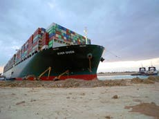 Ever Given: Court delays hearing in Suez Canal case as sides seek compensation deal