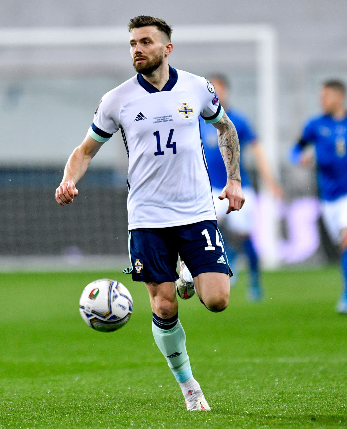 Stuart Dallas insists he could not turn down chance to play for Northern Ireland