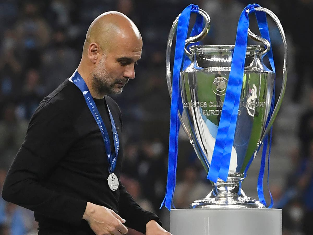 Pep Guardiola explains why Man City did not play with holding midfielder in Champions League final