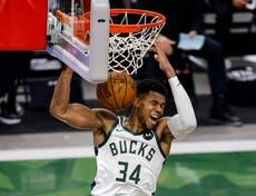 Giannis Antetokounmpo lands triple-double as Milwaukee Bucks sweep Miami Heat